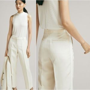 Massimo Dutti | High Rise Cropped Trousers
